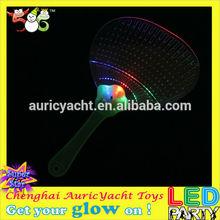 led plastic hand fan stick
