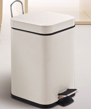 square peal dustbin with colorful wall LFP0301