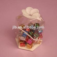 Clear PVC Wedding Fashion Plastic wedding souvenir wedding favors cheap candy boxes