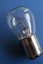 Automobile car accessory lighting 1016 S25 BAY15D 12V 21/5W halogen stop bulb