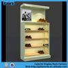 Hot sell mdf modern shoe rack for modren shoe store