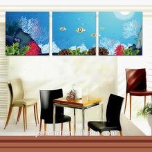 Impression fish oil painting