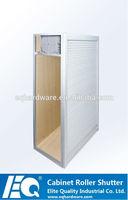 Standard Kitchen 600mm Width Aluminum Cabinet Roll Tambour Door