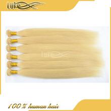 Top Quality 100% Raw Virgin Russian 613# Remy Human Hair