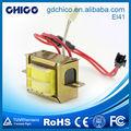 ei41 basse fréquence transformateur pour machines de bobinage pour transformateurs