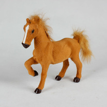 popular wholesale make fur 2014 new toy horse garden ornaments variety gifts
