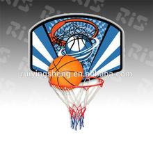basketball hoop and pole