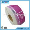 UV resistant adhesive vinyl sticker