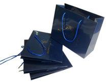 Hot Stamping Film Blue Royal Paper Bag