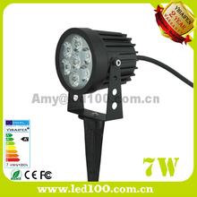 Outdoor spike spot lights 7W IP65 led garden light