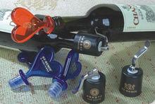 2014 shinning plastic wine bottle stopper