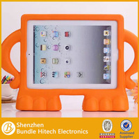2014 hot sell Kids Children Protective Shockproof Silicone Case For iPad 2/3/4