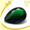 venta al por mayor de moda de la joyería de piedras preciosas semi preciosa de piedra de cristal verde esmeralda piedra de los precios