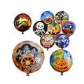 el diseño de variedad de la decoración de halloween del globo