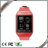 2014 Alibaba top selling factory wholesale best price fashionable anti lost bluetooth touch screen cellphone watch