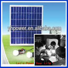 factory poly silicon 15w flexible solar power system