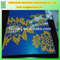 Pvc feuilles de contreplaqué 3mm 100x41x51cm lamianted/arabesque polyester, mdf