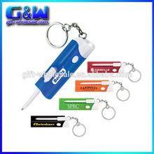 Custom Keychain Pen and LED Light