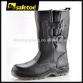 Fasionable botas de seguridad para el hombre, damas de acero del dedo del pie zapatos de seguridad, botas de trabajo para las mujeres h-9425