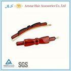 long alligator hair clip