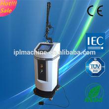 2014 top sale!!! CE approval scar & wrinkle removal medical co2 laser fractional