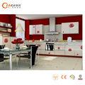 Rose red armário da cozinha moderna projetos, fotos de armário da cozinha