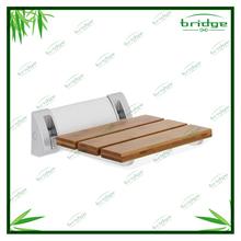 legno di bambù doccia pieghevole sedile vasca per adulti