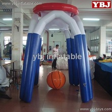 inflatable basketball play stand for water games