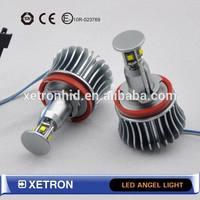 Aluminium alloy Auto halo lamp, for BMW angel eyes Cree LED E92 H8 20W