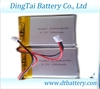 rechargeable Lithium polymer battery cell 3.7V 2900mAh DTB964855/lipo battery cell with PCB protected