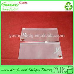 2014 hot selling small pvc ziplock bags, custom mini ziplock bag, frosted pvc ziplock bag