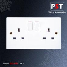 British Standard 13 amp switched socket Electrical Socket