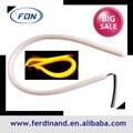 12v 10w flessibile drl. White+yellow colore del led drl luce di striscia con smd150