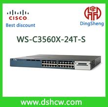 Original new Cisco catalyst multilayer network WS-C3560X-24T-S 24 ethernet port switch