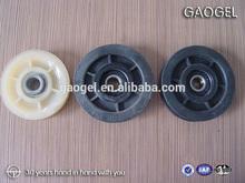 precision plastic roller rims and wheels