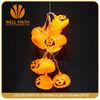 Pumpkin shape led string lights for Halloween items