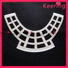 Fashion beaded wholesales neck design of dress WNL-1021