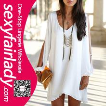 Chiffon Blouse 2014 New Fashion Summer Casual Loose Fit Ruffle Shirts Women Tops