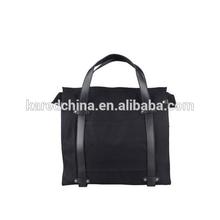 black trend design cheap men bag shoulder bag go bags leather satchel