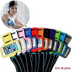 5.5'' reflective/sport armband sport/fitness armband jogging case capa fundas GYM holder armband case for Iphone 6 plus