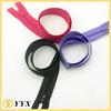wholesale garment accessories 5 coil zipper double side zipper