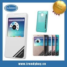 Usams brand PU Screen Window Flip Cover Case for Samsung Galaxy Note 4