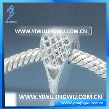 2014 Fashion Design Tennis Racket 925 Silver Bead Pendant