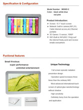 High Quality Support Extra 3G Dual-Core tablet 10.1