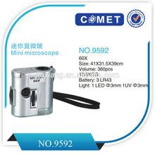 60x Power Binocular Compound Biological Microscope