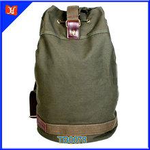 Custom Big Capacity Canvas Army Duffel Bag