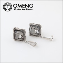 China Wholesale Girls Antique Silver Fashion Bali Jewelry Earring