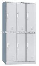 6 door military personal storage steel gym small metal locker