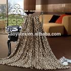 luxurious coral fleece blanket 100% polyester 2014 new design