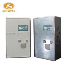 Silver & Black vv vw mod 7W-60W first union electronic cigarette box mod 18650 battery